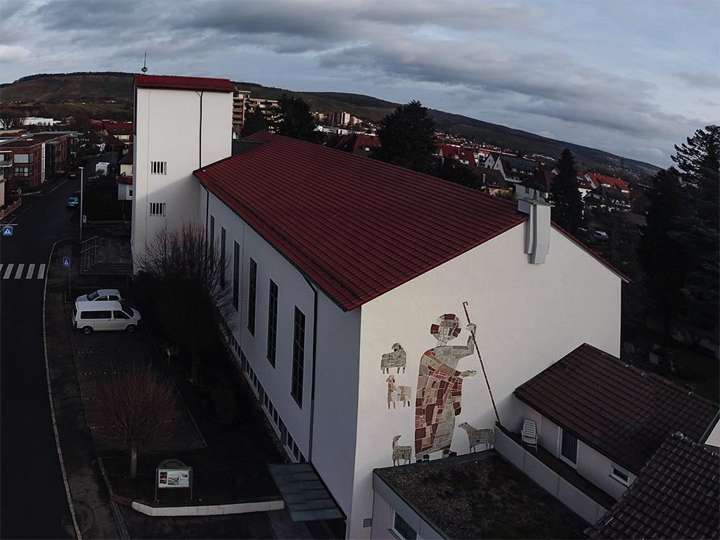 Kirchenansicht Herz Jesu, Rommelshausen