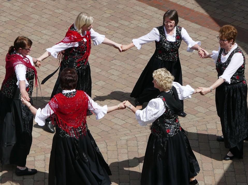 Folkloretanzgruppe